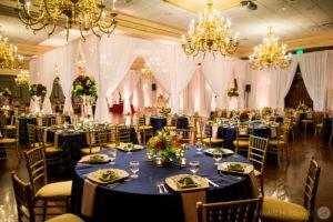 Bel Air Floral designs - wedding flowers table design