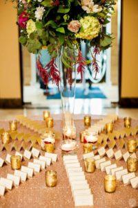 table centerpiece wedding flowers - baltimore maryland